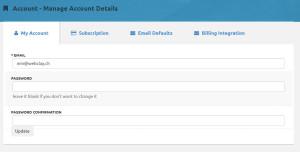 Click Funnels Account Details