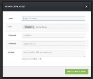 Click Funnels digitale Mediendateien
