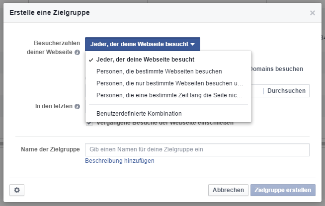 Facebook Retargeting Pixel Segmentation