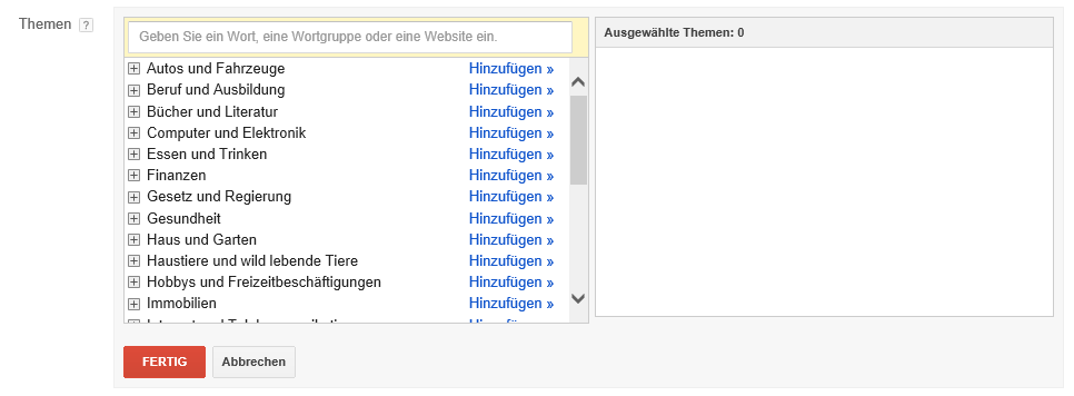 youtube-videokampagne-themen-targeting